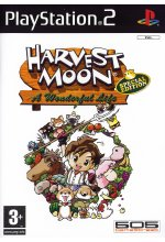 Harvest Moon - A Wonderful Life (englisch) Cover