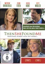 Then she found me DVD-Cover