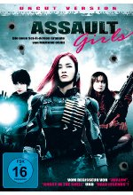 Assault Girls - Uncut Version DVD-Cover