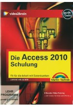 Die Access 2010-Schulung - Video-Training Cover