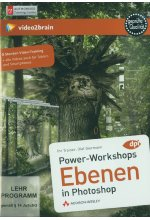 Powerworkshops: Ebenen in Photoshop - Video-Training (PC+MAC+Linux+iPad) Cover