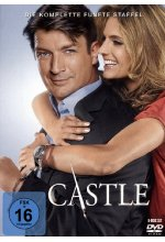 Castle - Staffel 5  [6 DVDs] DVD-Cover