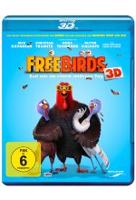 Free Birds - Esst uns an einem anderen Tag  (inkl. 2D-Version) Blu-ray 3D-Cover