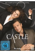 Castle - Staffel 7  [6 DVDs] DVD-Cover
