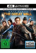 The Great Wall  (4K Ultra HD) (+ Blu-ray) Cover