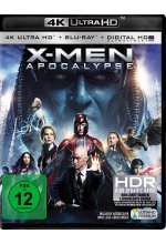 X-Men - Apocalypse  (4K Ultra-HD) (+ Blu-ray) Cover