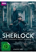 Sherlock - Staffel 4  [2 DVDs] DVD-Cover