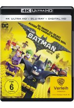 The Lego Batman Movie  (4K Ultra HD) (+ Blu-ray) Cover