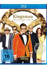 Kingsman - The Golden Circle Blu-ray-Cover