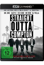 Straight Outta Compton  (4K Ultra HD) (+ Blu-ray 2D) Cover