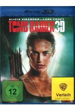 Tomb Raider Blu-ray 3D-Cover