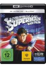 Superman: The Movie (1978)  (4K Ultra HD) (+ Blu-ray 2D) Cover