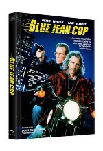 Blue Jean Cop - Limited Edition - Limitiert auf 150 Stück - Mediabook, Cover B  (+ Bonus-Blu-ray) Blu-ray-Cover